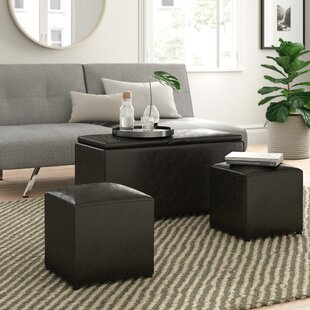Marla 3 Piece Ottoman Set by Zipcode Design