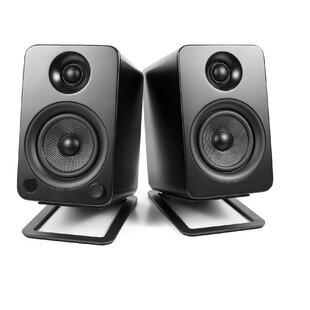 Desktop 2 Fixed Height Speaker Stand Set of 2