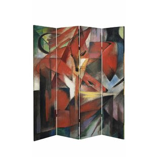 Bloomsbury Market Sarmiento Works of Marc 4 Panel Room Divider
