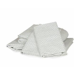 Thread Experiment Chevron 300 Thread Count Cotton Sheet Set