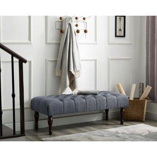 Charlton Home Maestas Upholstered Bench