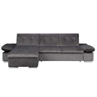 Alyesha Louis Sleeper Corner Sofa By 17 Stories