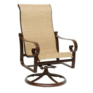 Belden Swivel Patio Dining Chair with Cushion