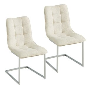 Beasley Upholstered Dining Chair (Set of 2) by Ivy Bronx