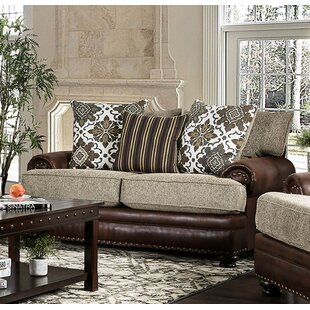 Riveria Transitional Chenille Loveseat