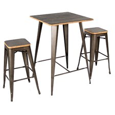 george 3 piece pub table set