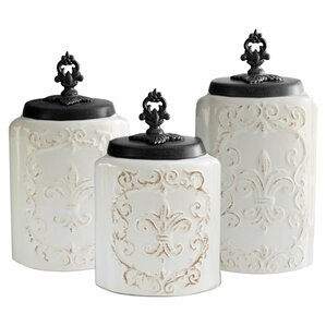 White Kitchen Jars white kitchen canisters & jars you'll love | wayfair
