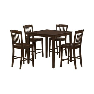 5 Piece Counter Height Dining Set Monarch Specialties Inc.