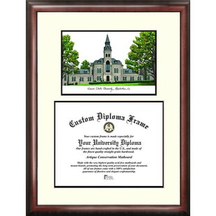 NCAA Kansas State Wildcats Scholar Lithograph Diploma Frame By Campus Images