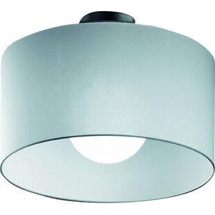 Fog 1-Light Semi Flush Mount by Morosini