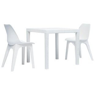 Kelita 2 Seater Bistro Set By Wade Logan