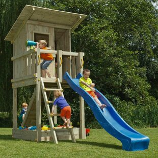 Beach Hut Play Tower By Freeport Park