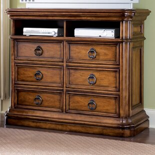 Jonesville 6 Drawer Media Chest