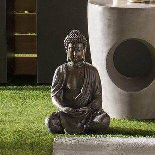 Outdoor Laughing Buddha Statue Wayfair