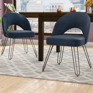 Buy luxury Malcom Side Chair (Set of 2) by Ivy Bronx Reviews (2019) & Buyer's Guide