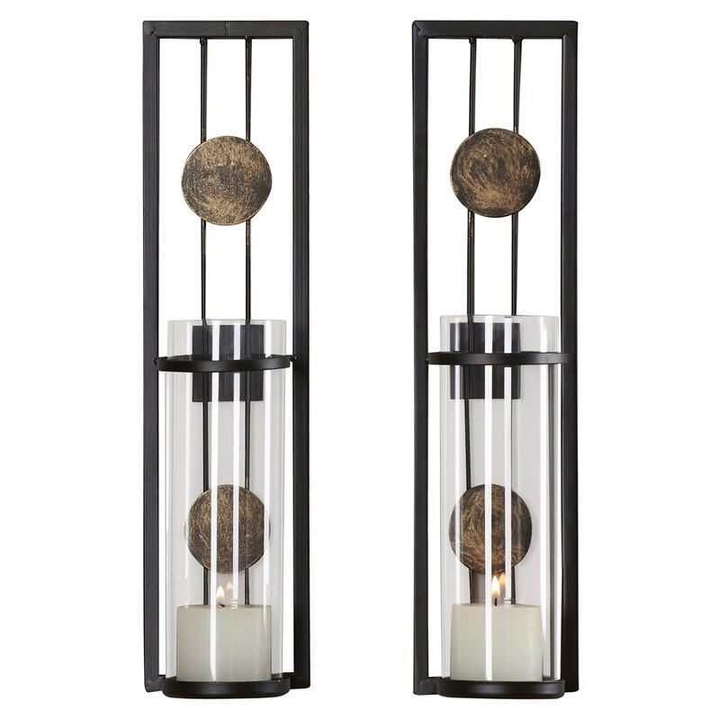 Beautiful Contemporary Wall Sconce Candle Holder