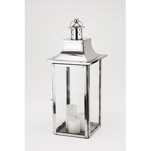 Empire Steel Lantern by Fashion N You by Horizon Interseas