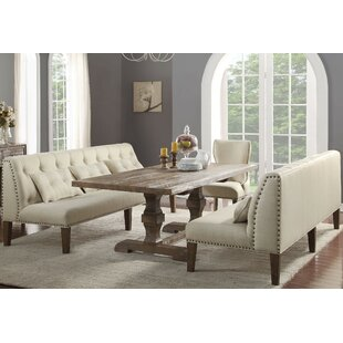 Locksley 4 Piece Dining Set by Canora Grey