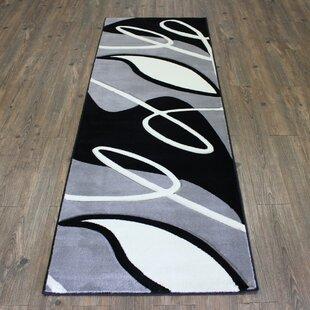 Affordable Geo Gray/Black Area Rug ByRug Factory Plus