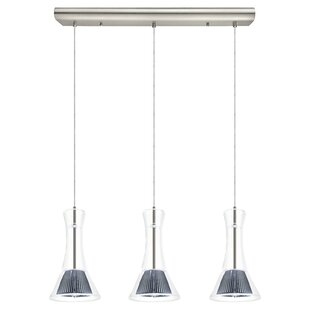 Brayden Studio Amanda 3-Light Kitchen Island Pendant