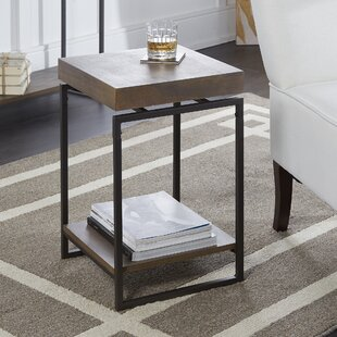 Heard End Table by Williston Forge