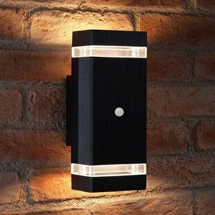 Gadson LED Outdoor Sconce With Motion Sensor By Sol 72 Outdoor