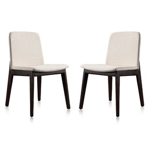 Skidmore Upholstered Dining Chair (Set of 2) Brayden Studio