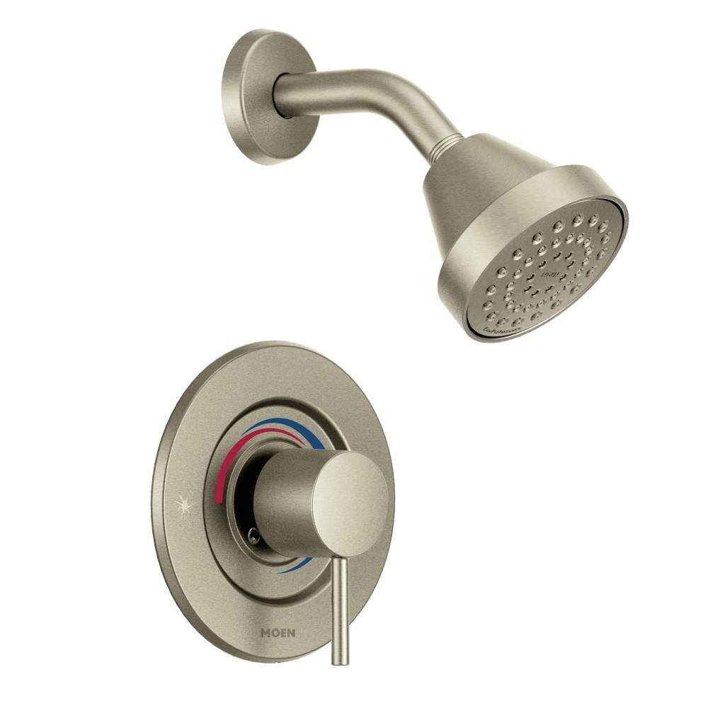Moen Align Posi-Temp Shower Faucet Trim with Lever Handle & Reviews ...