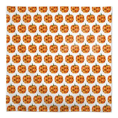 """The Holiday Aisle Tenley Pumpkin Pattern Tablecloth  Size: 102"""" L x 58"""" W"""