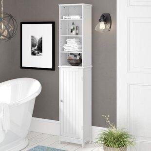 Ashbury 34cm X 165.5cm Free Standing Tall Bathroom Cabinet By Three Posts