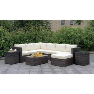 Morrell 10 Piece Sectional Seating Group with Cushions