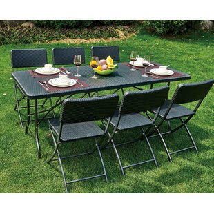 Alisanne 6 Seater Dining Set By Sol 72 Outdoor
