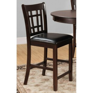 Orellana Wooden Bar Stool (Set of 2) by Alcott Hill