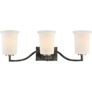 Buy clear Rockbridge 3-Light Vanity Light By Charlton Home