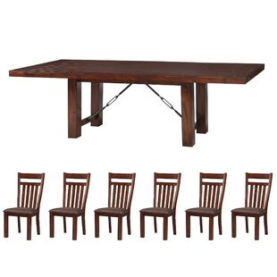 Metinaro 7 Piece Dining Set Charlton Home