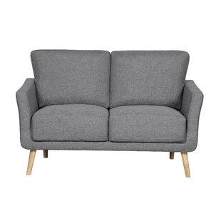 Edelen Modern Fabric Loveseat by Turn on the Brights