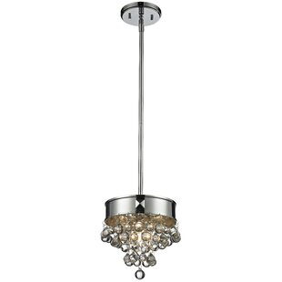 Orren Ellis Joubert 1-Light Drum Pendant