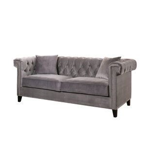 Vianna Chesterfield Sofa by Willa Arlo Interiors