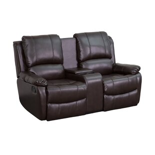 Pillow Top 2-Seat Home Theater Loveseat ByEbern Designs