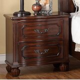 Ohlson 2 Drawer Nightstand by Astoria Grand