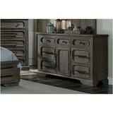 Juno Acacia 7 Drawer Double Dresser by Gracie Oaks