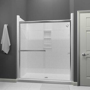 Lese 60 x 70 Bypass Semi-Frameless Shower Door by Arizona Shower Door