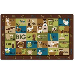 Great choice Rhyme Time Kids Rug ByCarpets for Kids