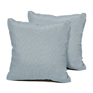SPA Indoor/Outdoor Throw Pillow (Set of 2)