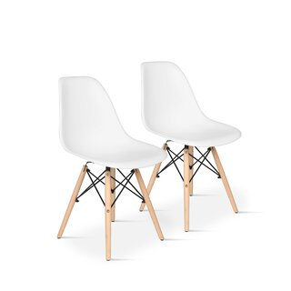 Archlebov  Plastic Dining Chair (Set of 2) by Wrought Studio SKU:CC432616 Price Compare