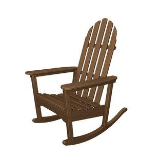 Rocker Plastic Adirondack Rocking Chair by POLYWOOD®
