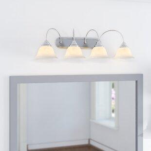 Ruhlman Traditional 4-Light Vanity Light by Red Barrel Studio