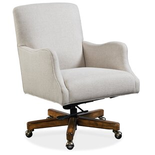 Binx Ergonomic Genuine Leather Executive Chair by Hooker Furniture