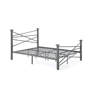 Carver Metal Platform Bed by Zipcode D..