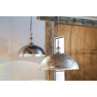 Bungalow Rose Crew Park 1-Light Inverted Pendant